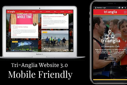 New Tri-Anglia Website Launched