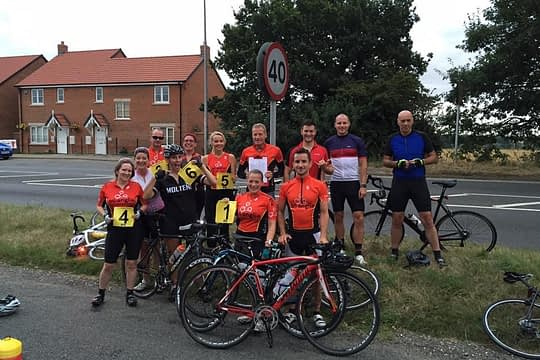 Saturday ride to Blickling hall for 6th anniversary Parkrun