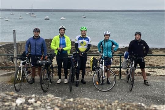 Cycling touring Holyhead to Bristol in 5 days